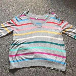 Old Navy Multi-Colored Sweater